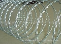Competitive Price razor barbed wire concertina razor wire fake razor wire