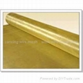 100% Pure brass wire mesh brass screen cloth for filter/sound insulation 1