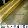 100% Pure brass wire mesh brass screen cloth for filter/sound insulation 5