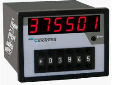 motrona PROFIBUS和CAN-BUS组合显示表和预设单元