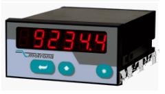 motrona帶有雙模擬輸入的過程顯示表AX345-348