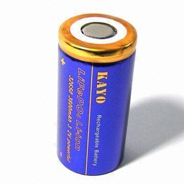LiFePO4 Battery 32650 with 4200mAh 3.2V 5
