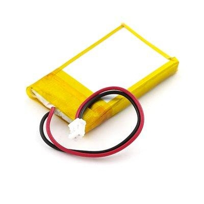 rechargeable Lithium Polymer Battery 2500mAh 3.7V for GPS  3