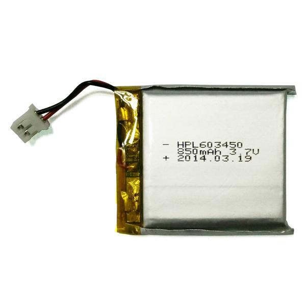3.7V Polymer battery 603450 850mah 1