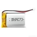 502030 250mAh 602030 300mAh 3.7V li-ion polymer battery for audio player etc. 2