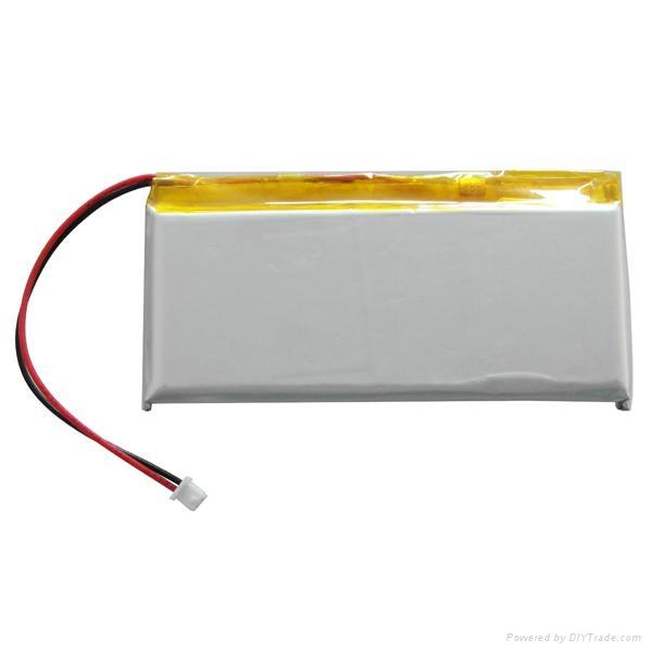 3.7V Battery High temp. & High power polymer 1300mAh 527535 2