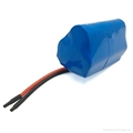 15C High rate 18650 li-ion battery 12V 1500mah 4