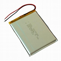 rechargeable Lithium Polymer Battery 2500mAh 3.7V for GPS