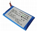 Li-polymer Battery with 1450mAh 3.7V