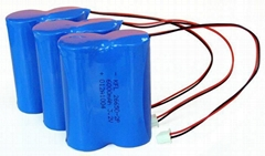 LiFePO4 Battery Pack with 3.2V 6000mAh, more than 2000 times life cycle