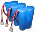 18650 Lithium Ion Battery Pack with 1800mAh Nominal Capacity  1