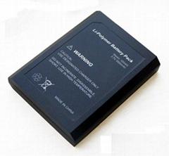 Li-po Battery Pack with 3500mAh 3.7V