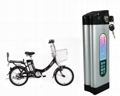 E bike battery 36V 10Ah with Max 20Ah discharge current charge&BMS