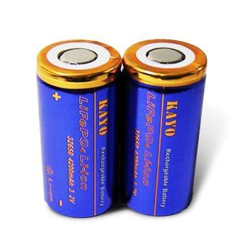 LiFePO4 Battery 32650 with 4200mAh 3.2V 2