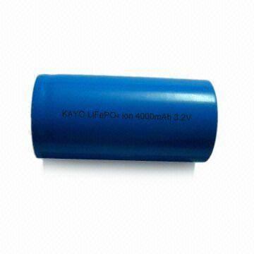 LiFePO4 Battery 32650 with 4200mAh 3.2V 3