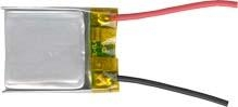 rechargeable Lithium Polymer Battery 2500mAh 3.7V for GPS  2