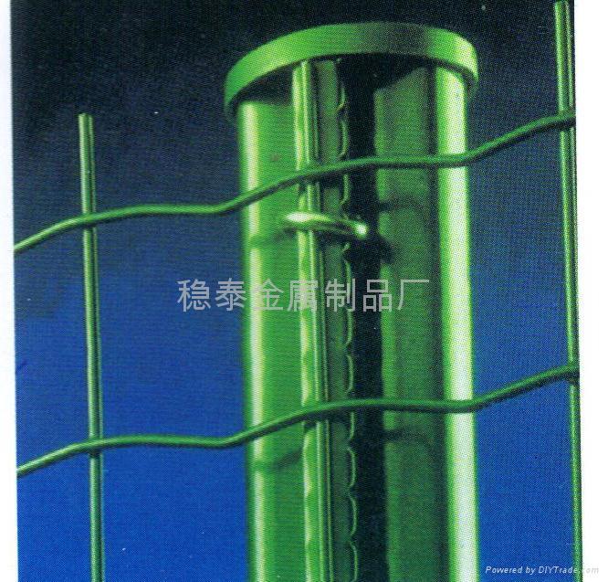 高速公路pvc护栏网隔离栅围栏网 3