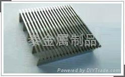 安平不锈钢304楔形矿筛网条缝矿筛网 2