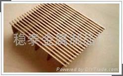 安平不锈钢304楔形矿筛网条缝矿筛网 5