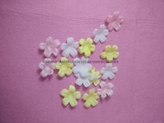 Delicate small petals bath soap flakes