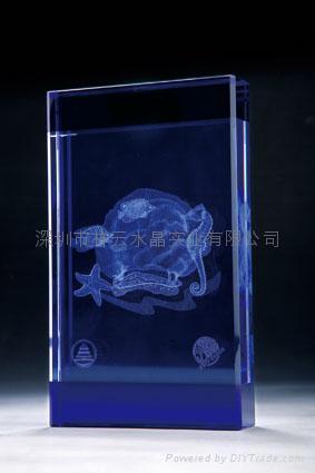 水晶內雕工藝品 3
