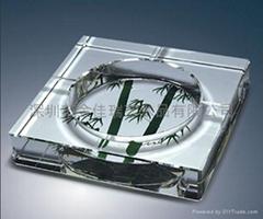 水晶煙缸工藝品
