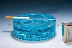 订做水晶烟灰缸