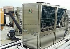 空氣源高溫熱泵熱水機組