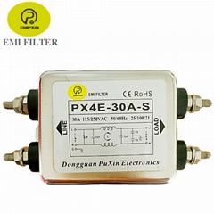 普鑫原廠電源濾波器220V交流單相濾波器