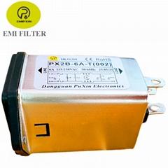 普鑫原厂直销电源滤波器 插座保险一体式滤波器