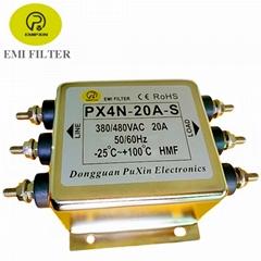 普鑫原廠三相濾波器 三相電源濾波器380V濾波器
