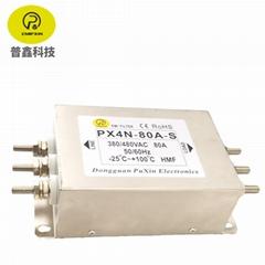 普鑫EMIPXIN原廠直銷電源濾波器三相濾波器 380V電源濾波器