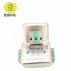普鑫原廠端子台濾波器 雙級導軌式端子臺電源濾波器