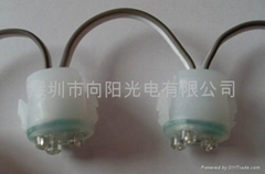2CM外露穿孔燈串