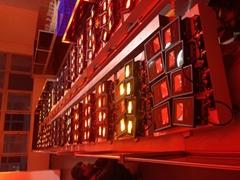 LED投光灯自动老化线 投光灯老化架