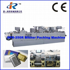 DPB-250R Aluminum-Plastic-Aluminum Blister Packing Machine