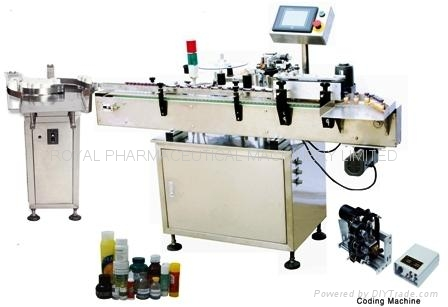 RYL-VAS-I Vertical Round Bottle Non-dryer Sticker Labeling Machine 1