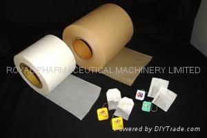 25gsm Heat-Seal Tea Bag Filter Paper 1