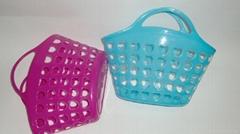 提手塑料水果籃