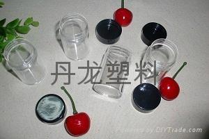 圓形塑料透明盒子 1
