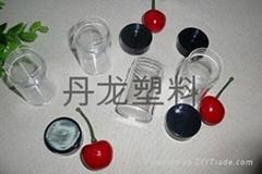 圆形塑料透明盒子