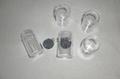 圓形塑料透明盒子 2
