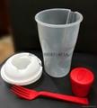 塑料色拉杯 salad cup 3