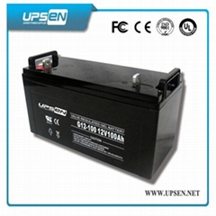 VRLA Sealed Lead Acid Battery UPS Battery Alarm System Battery