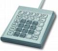 Mini-keyboard for machines