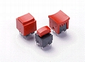 Square shaped pushbutton switch