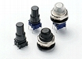 Waterproof pushbutton switch