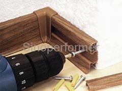 High Foam PVC Skirting board
