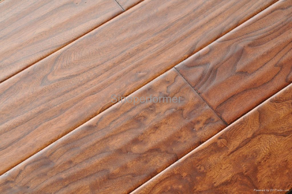 Wood Flooring Product : Stain oak engineered floor parquet china trading