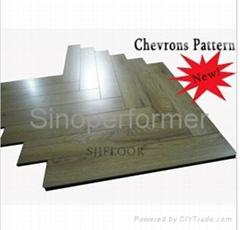 Embossed HDF Laminate Flooring